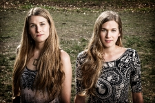 The Shook Twins photographed in Marin County, CA January 31, 2014©Jay Blakesberg