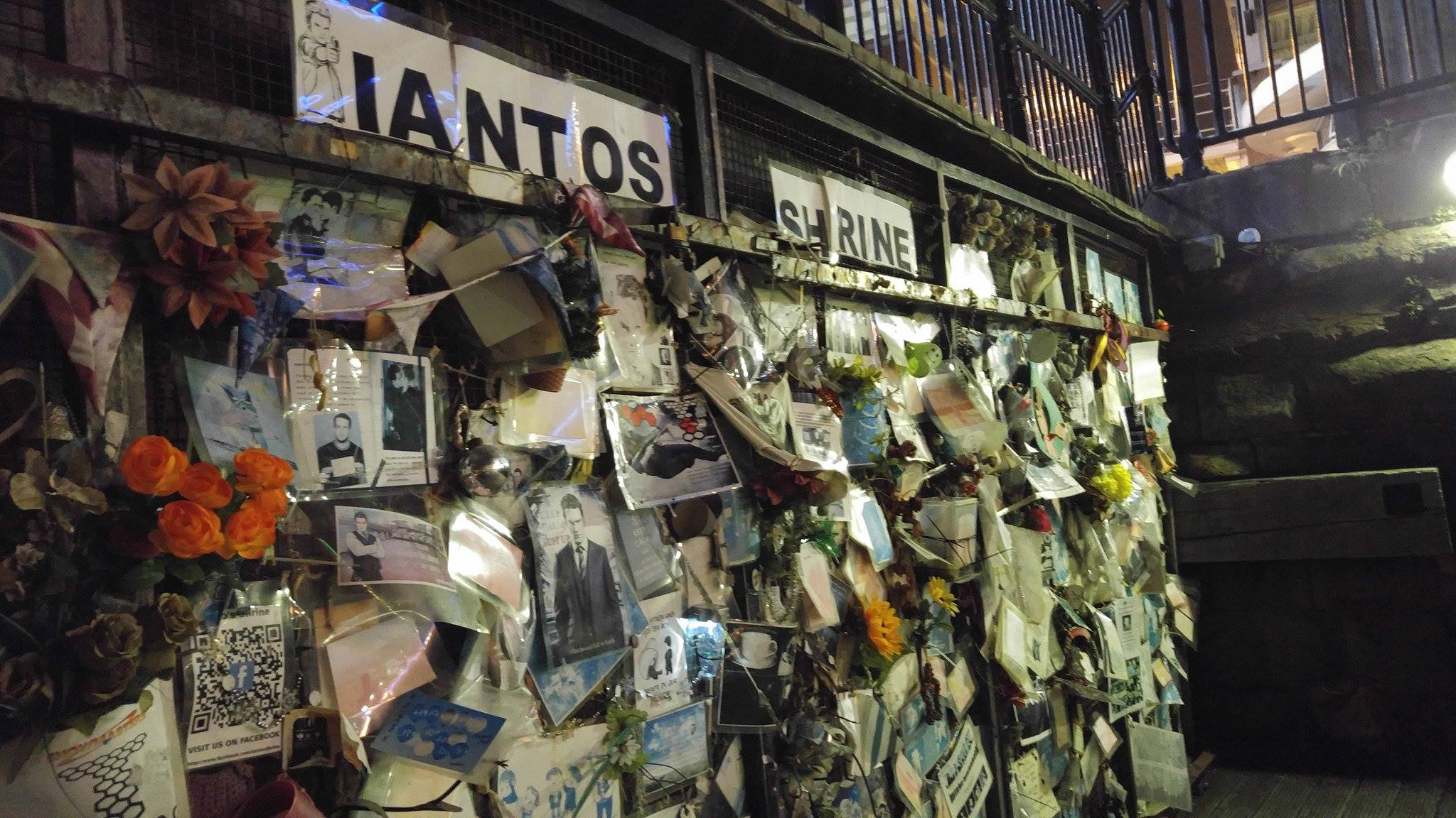 Ianto's Shrine Torchwood Cardiff